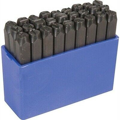 """1/2"""" Tall Steel Letter Punch Stamp Set for Metal Stamping"""