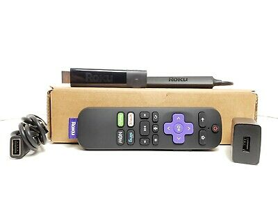 Roku Streaming Stick 3810X with Remote - Black - Excellent Condition!!