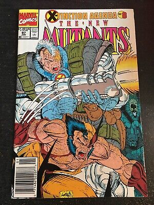 "New Mutants#97 Incredible Condition 9.0(1991)""X-tinction Agenda"" Liefeld Cover"