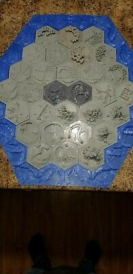 3d Printed Settlers Of Catan Board Game