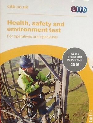 Health GT 100, Safety and Environment Test for Operatives and Specialists:
