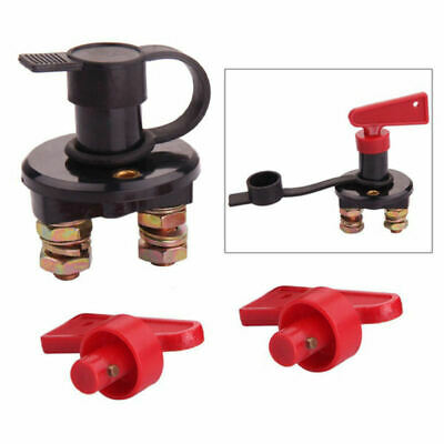 Battery Isolator Disconnect Cut OFF Power Kill Switch for Marine Car Boat R H2D6