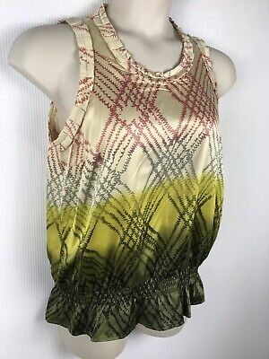 The Limited Women Size Large Sleeveless Polyester Career Casual Blouse NWOT