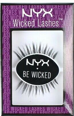 71521b03786 2 PACK NYX Cosmetics Wicked Lashes WL05 Corrupt - $10.79 | PicClick