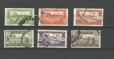 Liban - France Colonies Postally Used Set Of Stamps - Independence Lot (Leb 86)