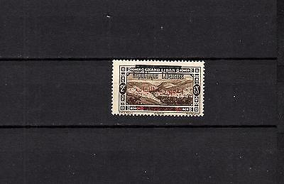 GRAND Liban French mandate RED & BLACK t on 2P - MH STAMP Signed LOT (LEB 804)