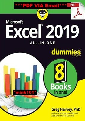 Excel 2019 All-in-One For Dummies 2019 [PDF] delivery via @Mail