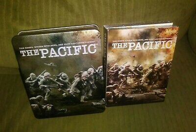 The Pacific: Complete HBO Series Blu-ray with Tin Case Box Edition Steelbook