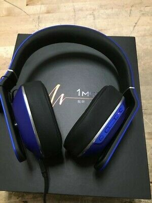 1MORE MK802 BLUE Bluetooth Wireless Over-Ear Headphones with Microphone/Remote