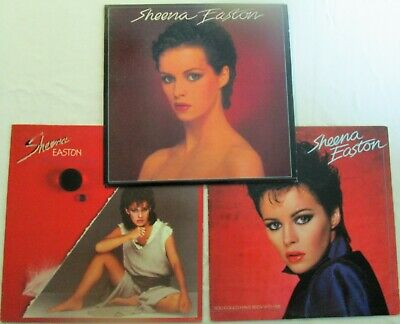 Lot of 3 LPs SHEENA EASTON Self-titled / Private Heaven / You Could Have EX/NM
