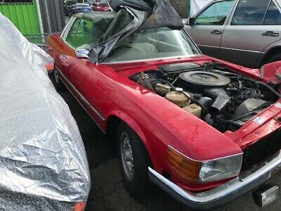 MERCEDES 450SLC Project 107 Coupe Classic collectable Damaged