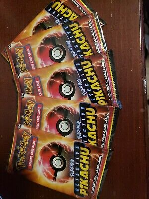 Set Of 5 Detective Pikachu Pokemon Game Cards Exclusive at Movie Theaters