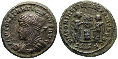 Constantine I VLPP from Siscia [A.D. 318]…Not in RIC-- unlisted workshop