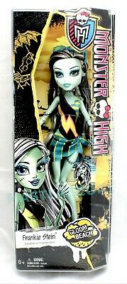 Monster High Doll Frankie Stein Daughter Of Frankenstein Gloom Beach Nib