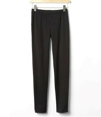 GAP KIDS Girls Black Leggings Size XS (4-5) NEW