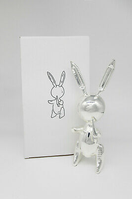 Silver Balloon Rabbit, Jeff Koons, Limited Edition, Pop, Warhol, Haring