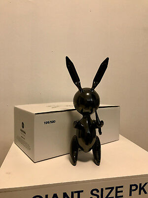 Balloon Rabbit and Carrot, Jeff Koons, Limited Edition, Pop, Warhol, Haring