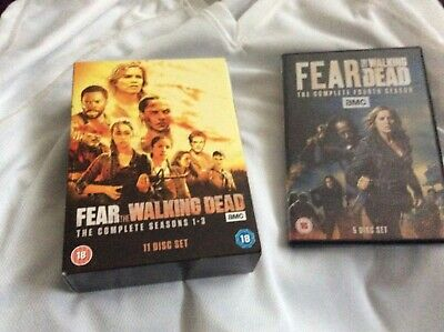 FEAR THE WALKING DEAD SERIES 1-4 - complete - excellent condition
