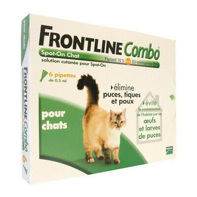 FRONTLINE 6 pipettes Combo - Pour chat