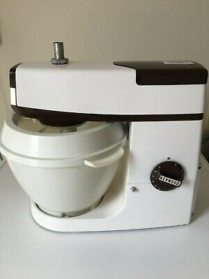 KENWOOD CHEF A703C  Mixer, Bowl, K Beater, Whisk, Dough Hook Pouring shield