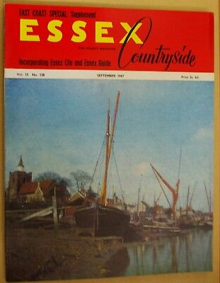 September 1967 Essex Countryside Magazine - Local History, Views, News & Adverts