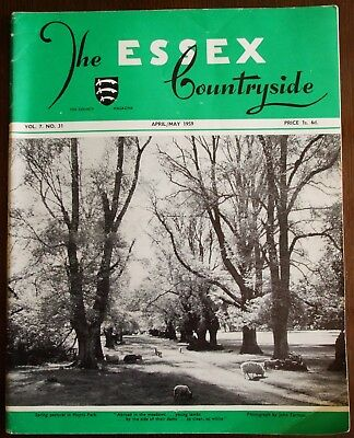 April/May 1959 Essex Countryside Magazine - Local History, Views, News & Adverts
