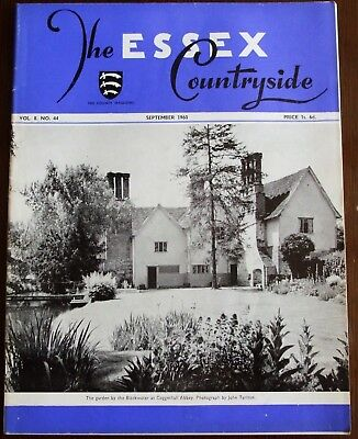 September 1960 Essex Countryside Magazine - Local History, Views, News & Adverts
