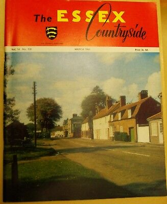 March 1966 Essex Countryside Magazine - Local History, Views, News & Adverts