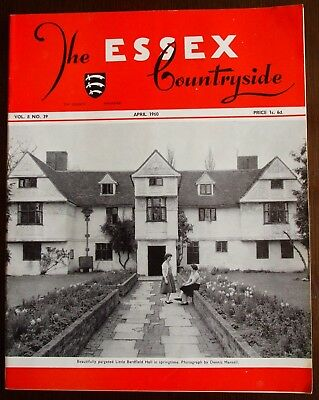 April 1960 Essex Countryside Magazine - Local History, Views, News & Adverts