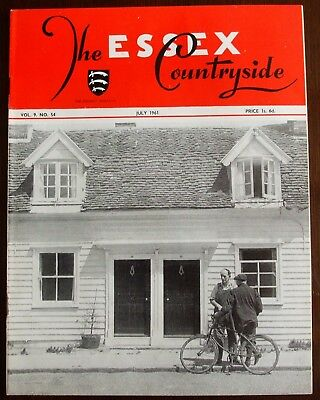 July 1961 Essex Countryside Magazine - Local History, Views, News & Adverts