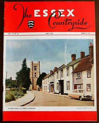 May 1961 Essex Countryside Magazine - Local History, Views, News & Adverts