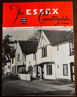 October 1960 Essex Countryside Magazine - Local History, Views, News & Adverts