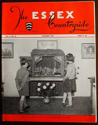 December 1959 Essex Countryside Magazine - Local History, Views, News & Adverts