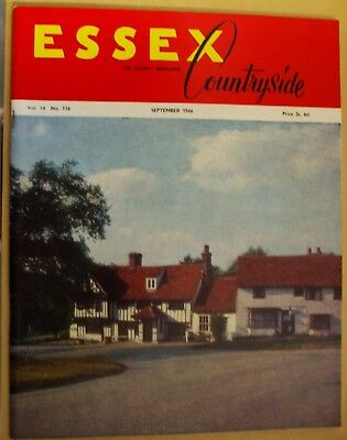 September 1966 Essex Countryside Magazine - Local History, Views, News & Adverts