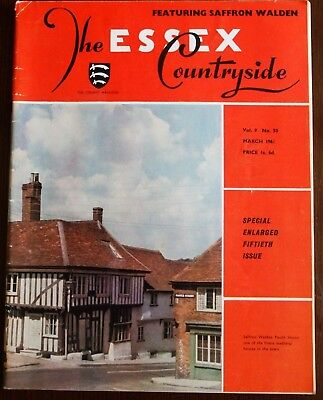 March 1961 Essex Countryside Magazine - Local History, Views, News & Adverts