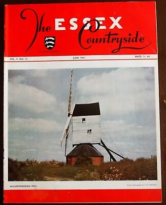 June 1961 Essex Countryside Magazine - Local History, Views, News & Adverts