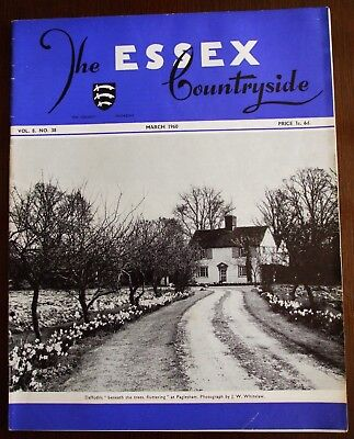 March 1960 Essex Countryside Magazine - Local History, Views, News & Adverts