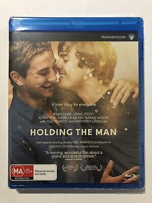 Holding The Man (Blu-Ray, 2016) Brand New & Sealed Region B Movie 🍿 Love Story
