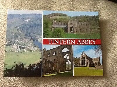 Postcard - Tintern Abbey, Wales - UK (B)
