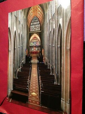 Postcard - Church of St Mary Redcliffe, Bristol, UK (I)