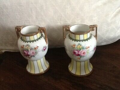 Pair of Naritake vases.Vintage.