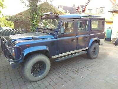 1988 Landrover Defender 110 CSW – recent new chassis