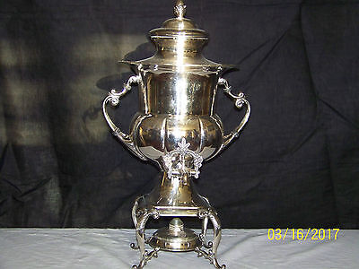 Antique c1890's Silverplate Victorian Hot Water Server