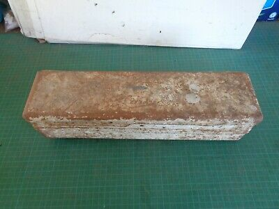 Vintage FORD TRACTOR tool box, white with faint branding