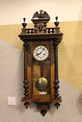 Gustav Becker  germany wall clock 1910