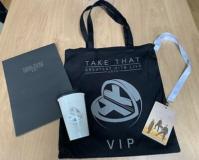 Take That Greatest Hits 2019 Odyssey VIP Tote Bag With Contents 30 Year Tour