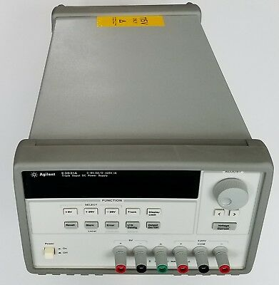 Agilent  E3631A Triple Output DC Power Supply 0-6V 5A/ 0- +/-25V 1A