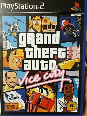 Grand Theft Auto - GTA Vice City (PS2) - Francais Edition [Brand New NOT Sealed]