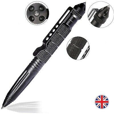 UK Self Defense Pen Aviation Aluminum Tactical Pen for Writing and Glass Breaker