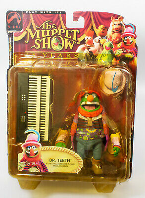 Dr.Teeth Sammlerfigur 🎹 The Muppet Show 🎵 25 Years 🤪 Keyboard + Base 🤪 RARE